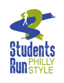 Student Run Philly Style Logo